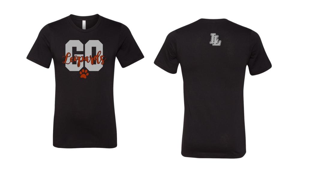 Black Go Leopards T-shirt